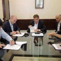 El Municipio firm� un convenio para realizar obras en el barrio El Progreso