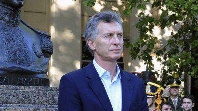 Tras el regreso de Cristina Kirchner, el presidente Mauricio Macri quiere la calle despejada