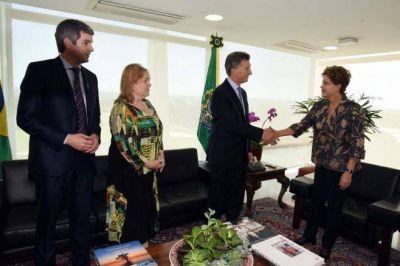 Por la crisis de Brasil, Macri ahora busca que Italia financie el soterramiento del Sarmiento