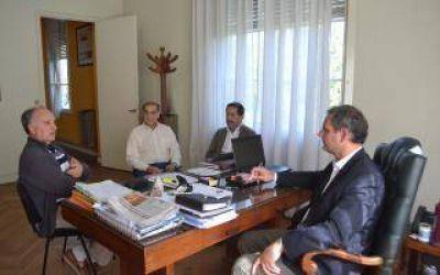 Madariaga: El municipio y ABSA planificaron obras de ampliación de cloacas y agua