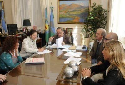 El Municipio realizó nuevos aportes para obras en establecimientos educativos