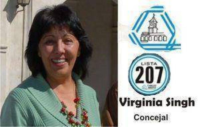Inaugura la Candidata a Concejal Virginia Singh la sede de Cabildo Abierto.