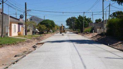 Anunciaron la pavimentación para los barrios Provincias Argentinas y Sarmiento Norte