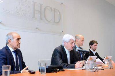 Andreotti inauguró el año legislativo con pedidos a Provincia y Nación