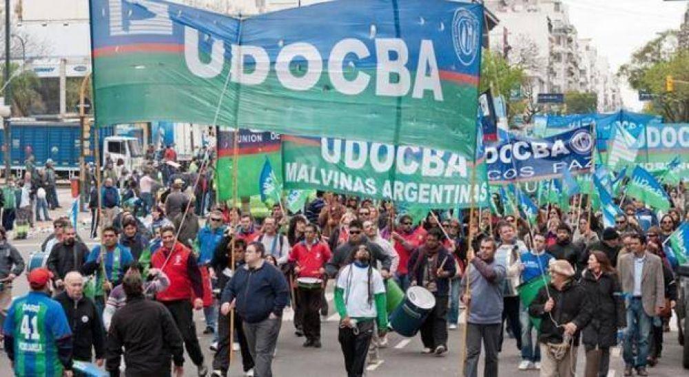 Docentes nucleados en UDOCBA anunciaron paro para el 11 de mayo
