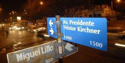 La polémica por el proyecto para quitar los homenajes al nombre de Néstor Kirchner