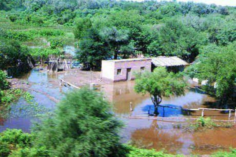 Obras de defensa para evitar nuevos desbordes del río Pilcomayo