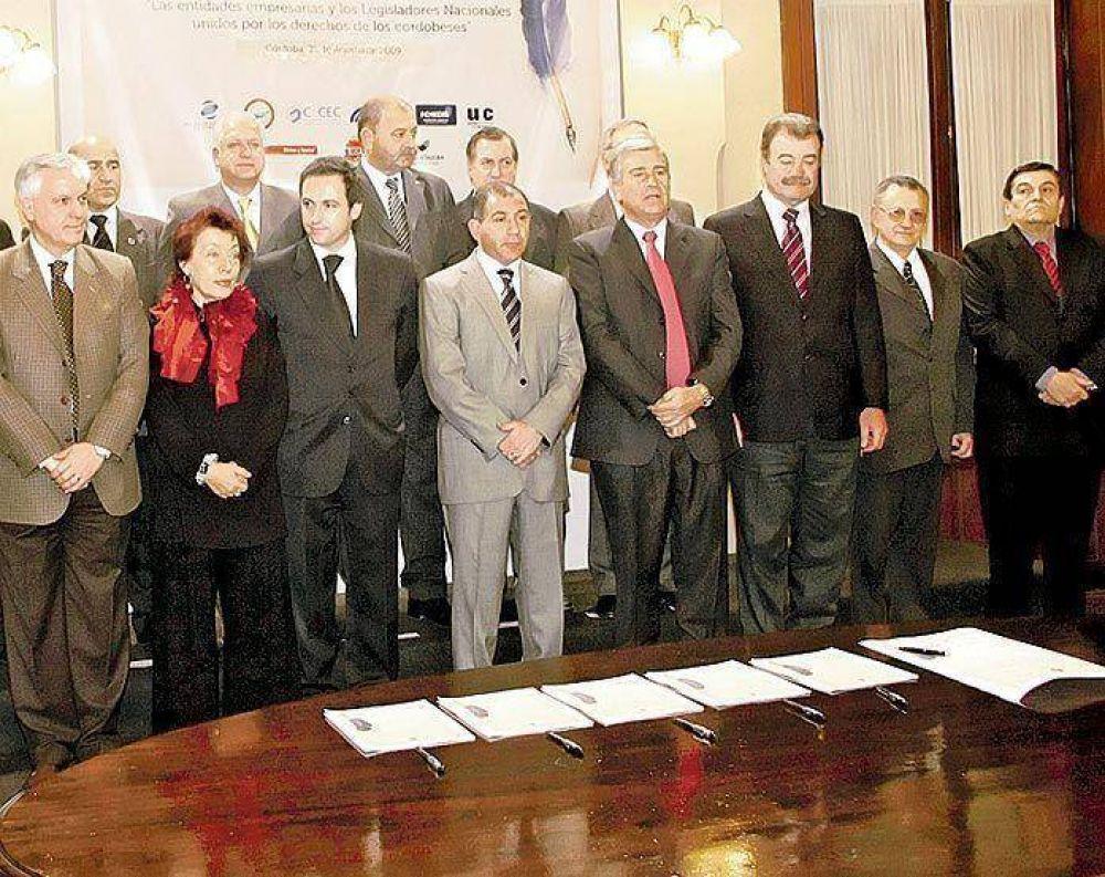 Córdoba: políticos y empresarios acuerdan una agenda legislativa