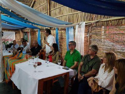 Oscar pide hacer política con los entes nacionales