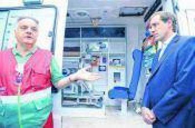 El SAME platense comenzará a funcionar en septiembre con 10 ambulancias y 50 médicos