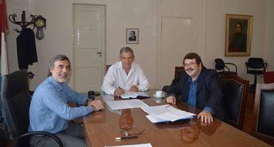 Rosconi se reunió con Ministro de Salud