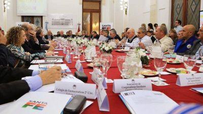 Lifschitz encabezó la primera reunión del Consejo Económico y Social