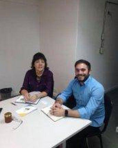 Reunión con autoridades del Ministerio de Cultura de Nación