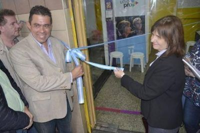 Bullrich acompaño a Lobos en la inauguración de dos institutos de formación política en San Martín