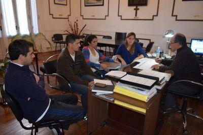 Por el proyecto 'Galpón de las juventudes' se reunieron en Saladillo