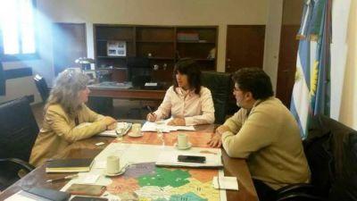 Silvestre y Lord�n se reunieron con la Ministra Zulma Ortiz