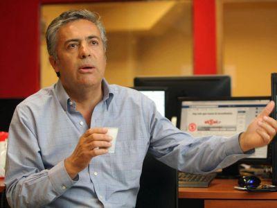 Cornejo quiere cerrar casinos y reformar la Justicia