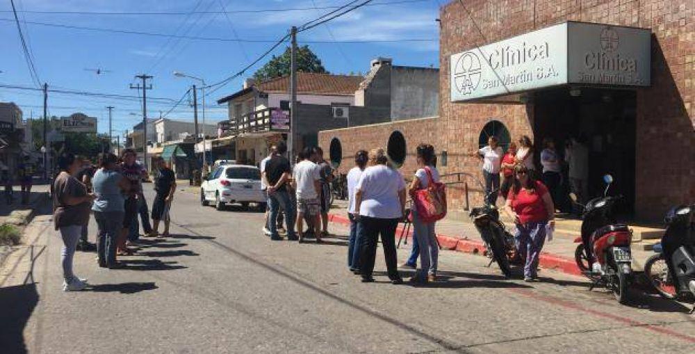 Clínica San Martín: Paro total por tiempo indeterminado
