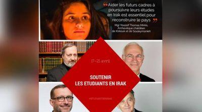 Obispos franceses viajan a Irak para apoyar a estudiantes cristianos