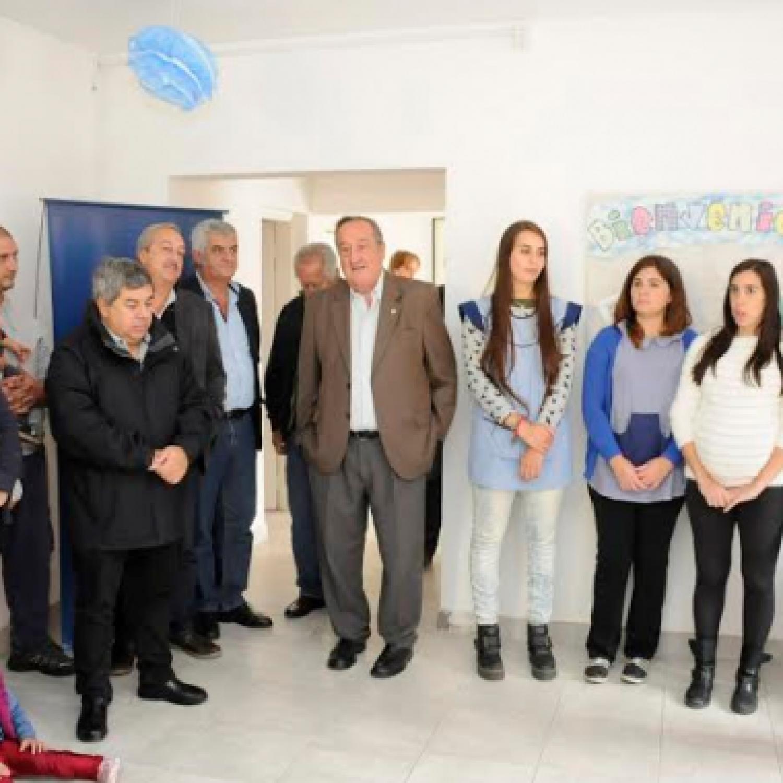 Tandil el municipio inaugur las obras de ampliaci n del for Inscripcion jardin maternal 2016 caba