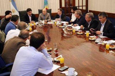 Ducot� recibi� al Ministro de Econom�a provincial en Pilar