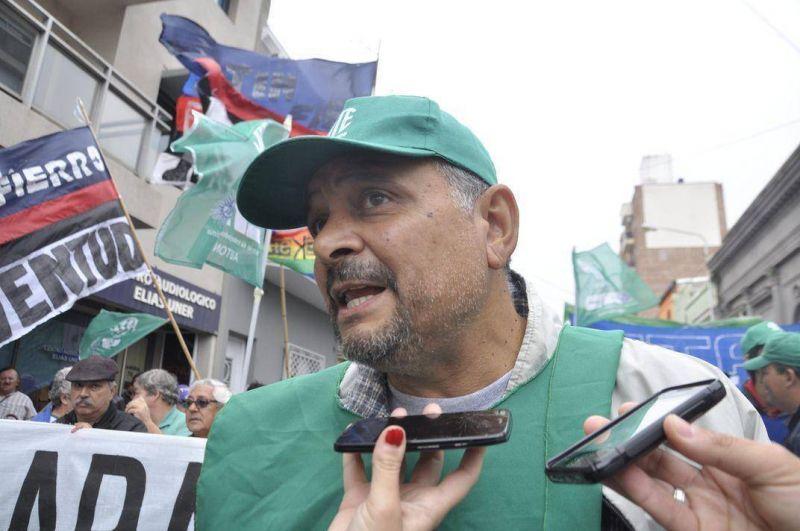Desde ATE destacaron la gran participación de los trabajadores en la protesta de este martes