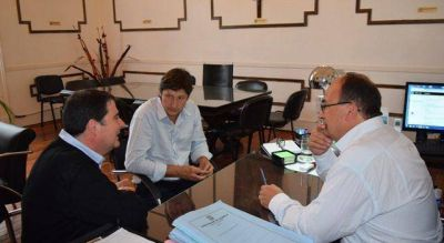 El Intendente se reunió con Directores de IOMA