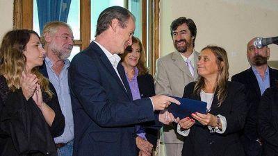 Copnaf: Bordet puso en funciones a la nueva presidente
