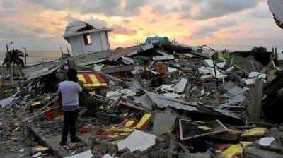 Ecuador en alerta: un nuevo terremoto de 6,1 grados sacudi� la costa norte del pa�s