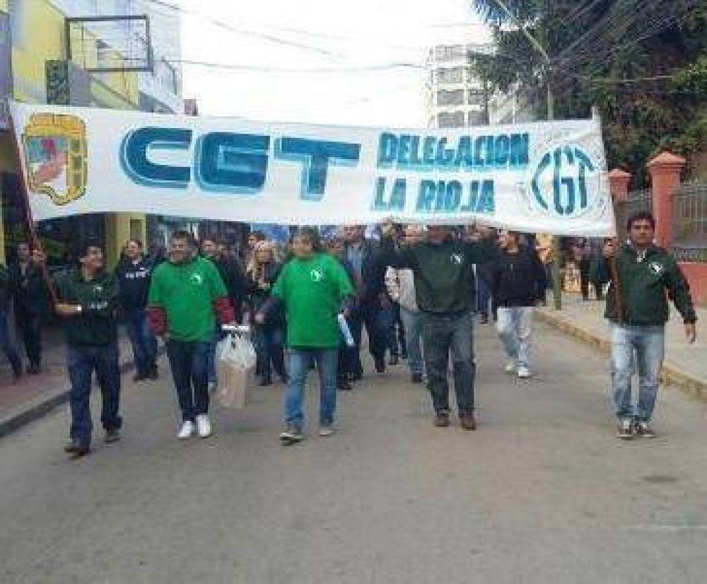 La CGT marchó con reclamos al gobierno nacional y provincial