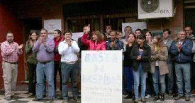Trabajadores de Agricultura Familiar marchan por la reincorporación de los cesanteados