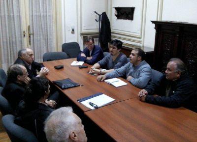 Comisión Episcopal de Pastoral Social recibió a dirigentes de ATE por conflicto en Tierra del Fuego