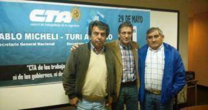 Marcelo S�nchez es el nuevo secretario general de ATE