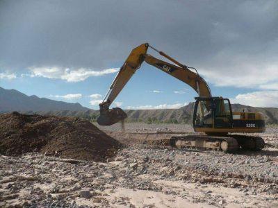 Obras preventivas en la zona de la Quebrada