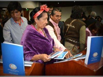 El Gobierno de Jujuy presentó el Compendio de Derecho Indígena