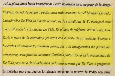 Facturas truchas: Carrió vinculó a Juan Suris con Julio De Vido
