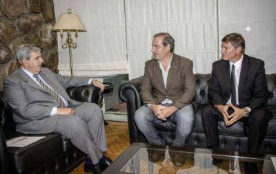 El vicegobernador se reunión con representantes del Foro de Ingeniería del NOA