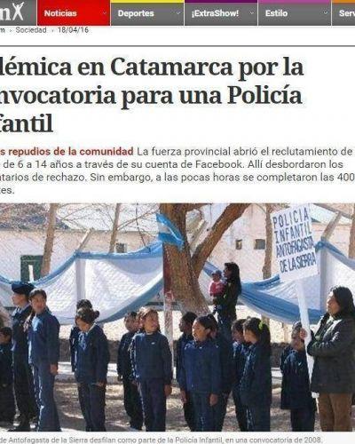 """Fuerte repercusión de la """"Policía Infantil"""" en los medios nacionales"""