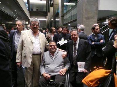 El director del RENATEA, Ramón Ayala, participó en la reunión ampliada de los gabinetes de Macri y Vidal