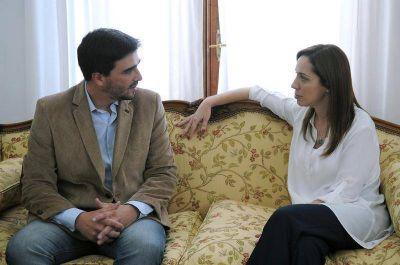 Ezequiel Galli estuvo reunido con la gobernadora