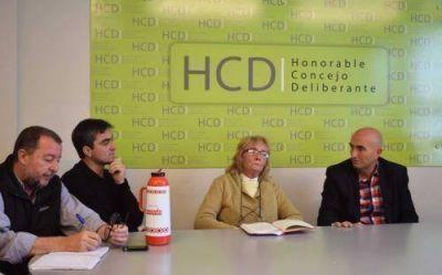 El Concejo Deliberante se reunió con la Federación de Sociedades de Fomento y Juntas Vecinales
