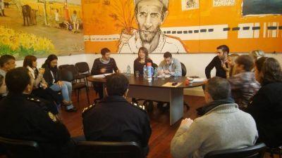 Reunión con reparticiones públicas, por el estado del E.C.O.P.