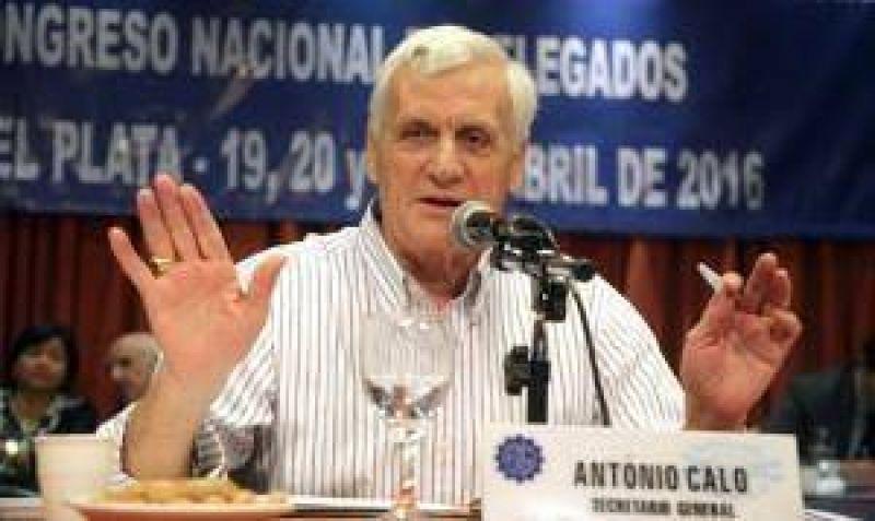 Caló anunció un plan de lucha de la UOM y reclamó 35% de aumento