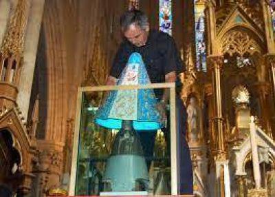 Preparan la fiesta de la Virgen de Luján, patrona de la Argentina