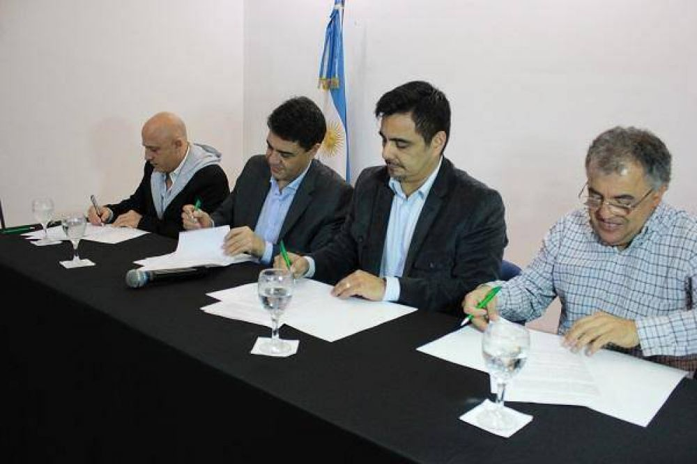 ATE Zona Norte firmó acuerdo histórico con el municipio
