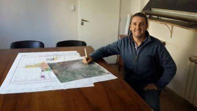 Se trabaja en las bases del concurso en cual los arquitectos proponen embellecer paisajistamente el Parque Las Acollaradas