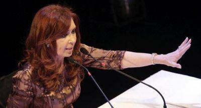Cristina afirmó que el Gobierno y Bonadio