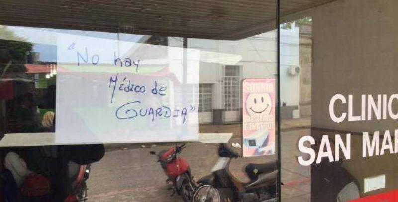 Conflicto Clínica San Martín: Empleados confirmaron una marcha para el viernes