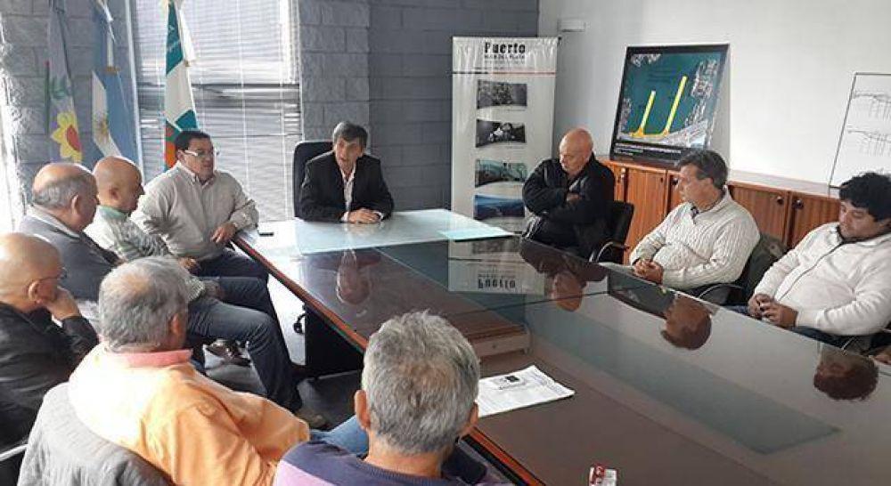 Fuerte malestar de Camioneros con el presidente del Consorcio Portuario
