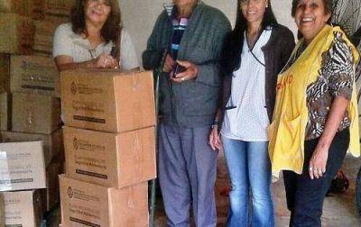 El Ministerio de Salud y Aceband llevan asistencia para enfermos celíacos de zonas rurales